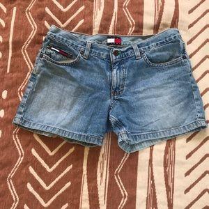 VTG late 1990s TOMMY HILFIGER roller short shorts